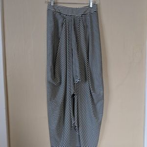 Urban outfitters high waisted striped maxi skirt